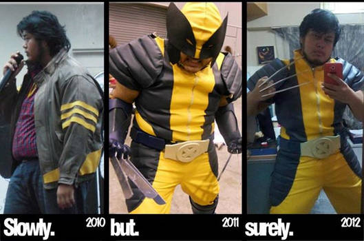 Weight loss for Cosplay progress