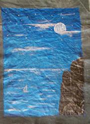 Lone sail by AksaStrig