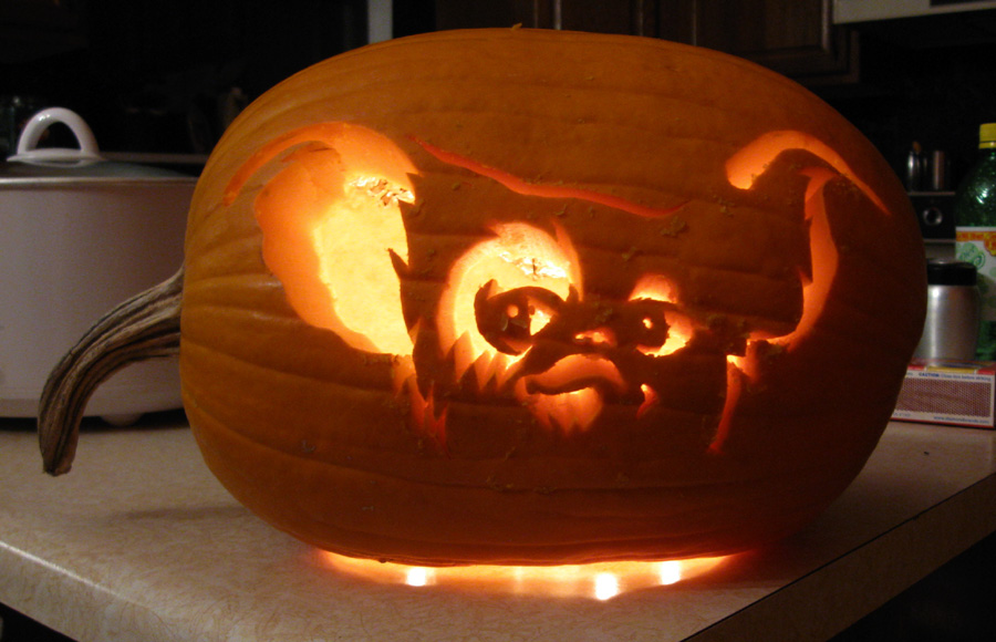Gizmo Pumpkin By Hondahb6 On Deviantart