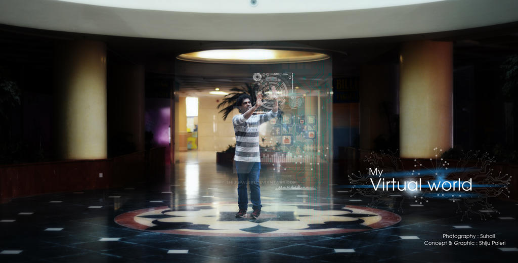 My virtual world by shijupaleri