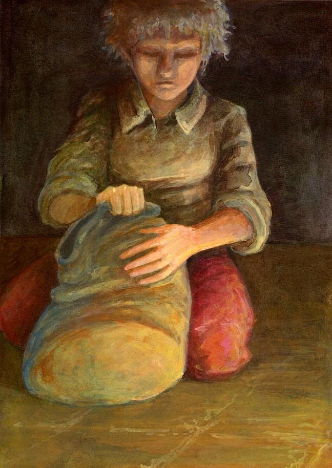 book cover   the folk keeper