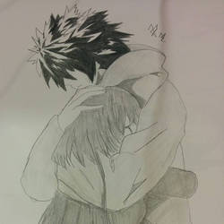 hugs by HALFBREEDWOLF25