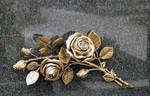 Golden rose 2. by Darknight-Stock