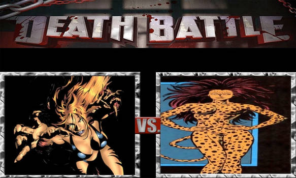 DEATH BATTLE Idea Tigra VS The Cheetah