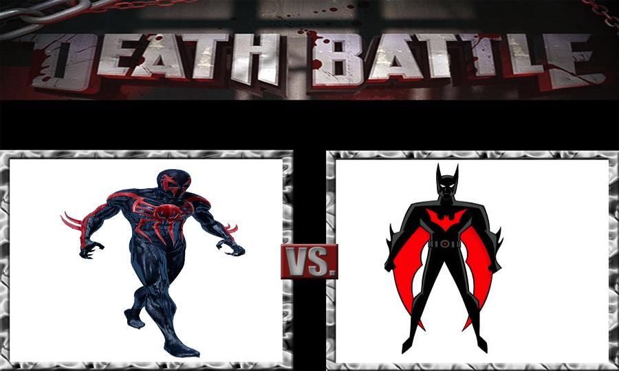 DEATH BATTLE Idea Spider-Man 2099 VS Batman Beyond by JefimusPrimeBatman Beyond Vs Ironman