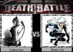 DEATH BATTLE Idea Catwoman VS Black Cat