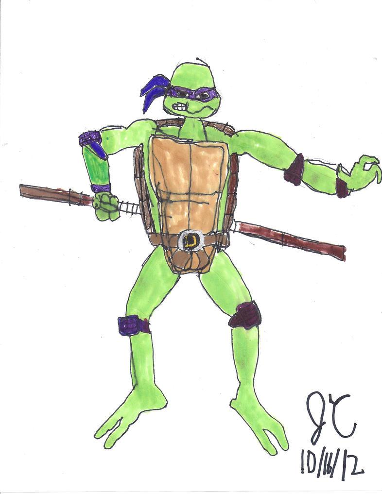 1987 Donatello Reshell...