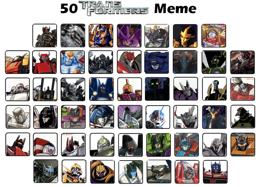 My 50 Favorite Transformers characters by JefimusPrime on ...
