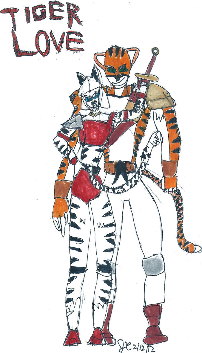 Tiger Love by JefimusPrime