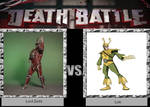 DEATH BATTLE Idea Lord Zedd VS Loki
