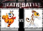DEATH BATTLE Idea Tony The Tiger VS Chester Ch
