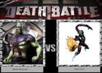 DEATH BATTLE Idea Martain Manhunter VS Super S