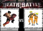 DEATH BATTLE Idea Jin Kazama VS Naruto Uzumaki