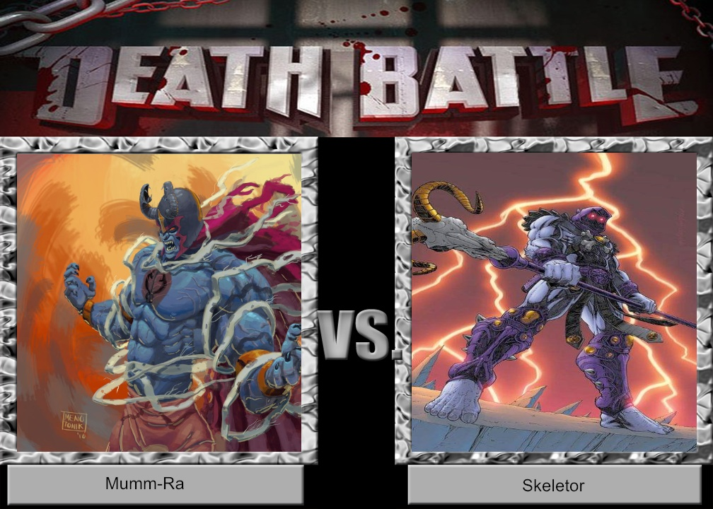 DEATH BATTLE Idea Mumm-Ra vs Skeletor by JefimusPrime on ...