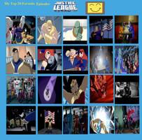 Jefimus Top 20 Justice League Episodes by JefimusPrime