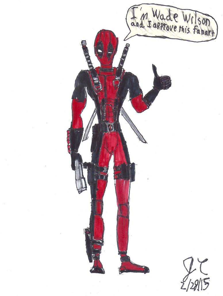 Deadpool awesome Fanart by JefimusPrime