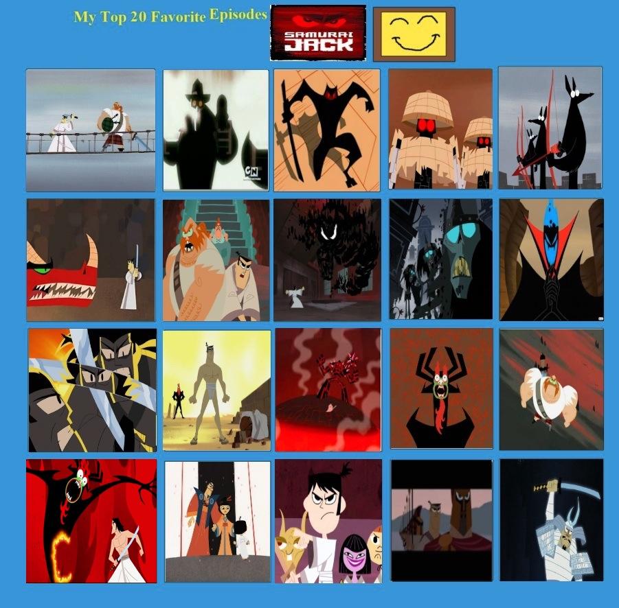 jefimus top 20 samurai jack episodes by jefimusprime on deviantart