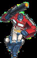 G1 Optimus Prime Promo Render by JefimusPrime