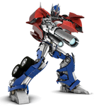 Transformers-prime Optimus Prime ready to fire