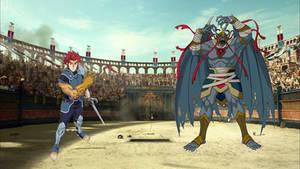 The ThunderCats vs Mumm-Ra at The Coliseum