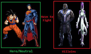 What If Goku and Superman teamed up to fight Darks