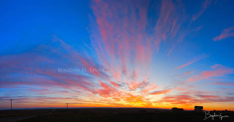 Sunset in Bukowina 2 by BogdanEpure