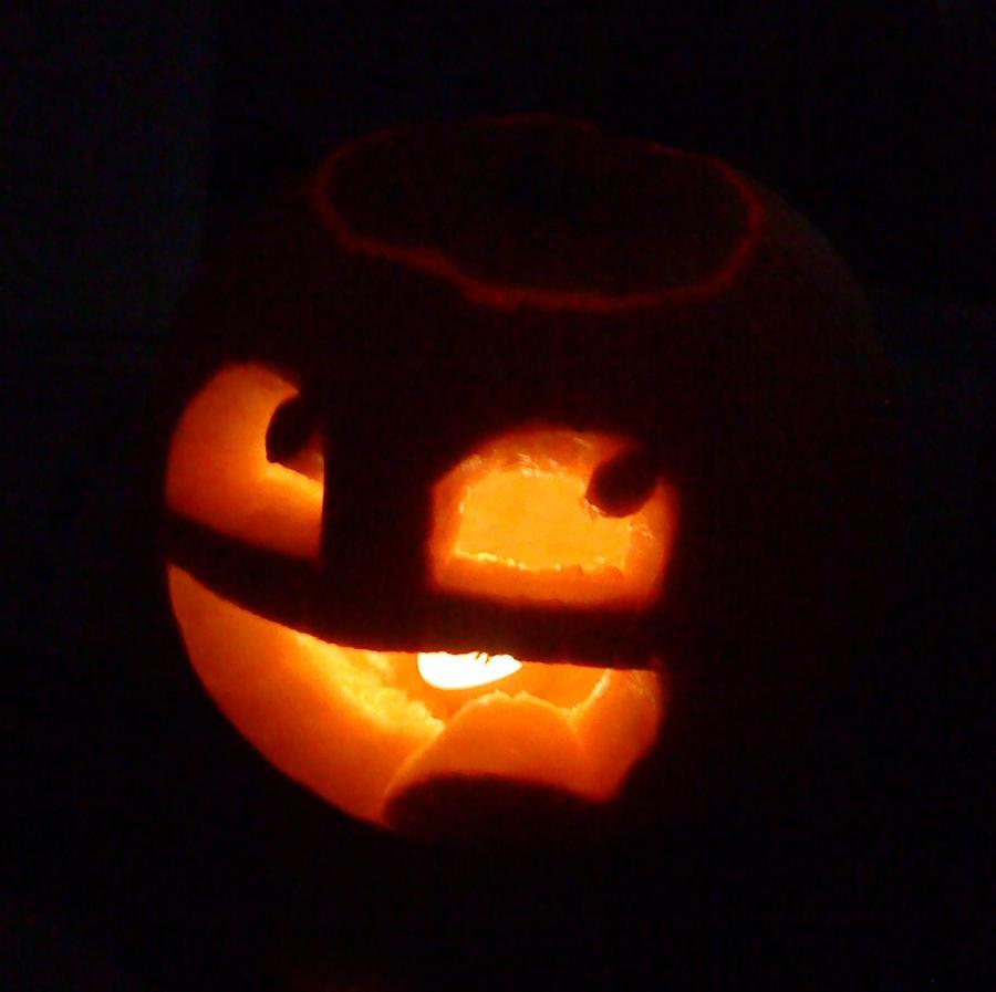 Cool Pumpkin Faces Awesome Pumpkin By Ischris On Deviantart