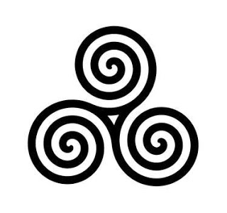 Celtic Triplesymbol by DustyPony
