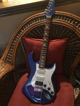 Rainbow Dash Replica Guitar