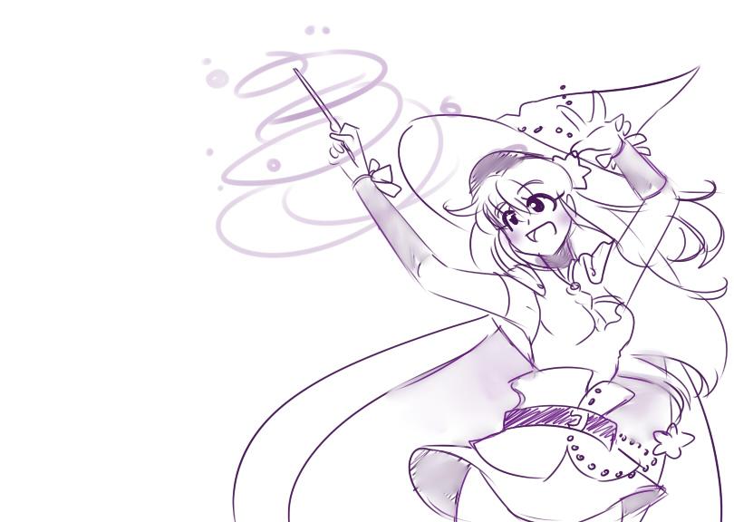 30 day sketch 01 - magic by Onirin