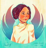 Goodbye Carrie Fisher by Serena-Moretti