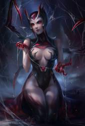 Elise - Spider Queen by BlondynkiTezGraja