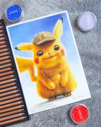 Pikachu - Detective Pikachu