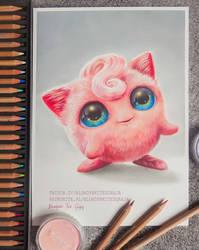 Jigglypuff realistic drawing