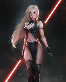 Niul - Star Wars inspired Sith lord