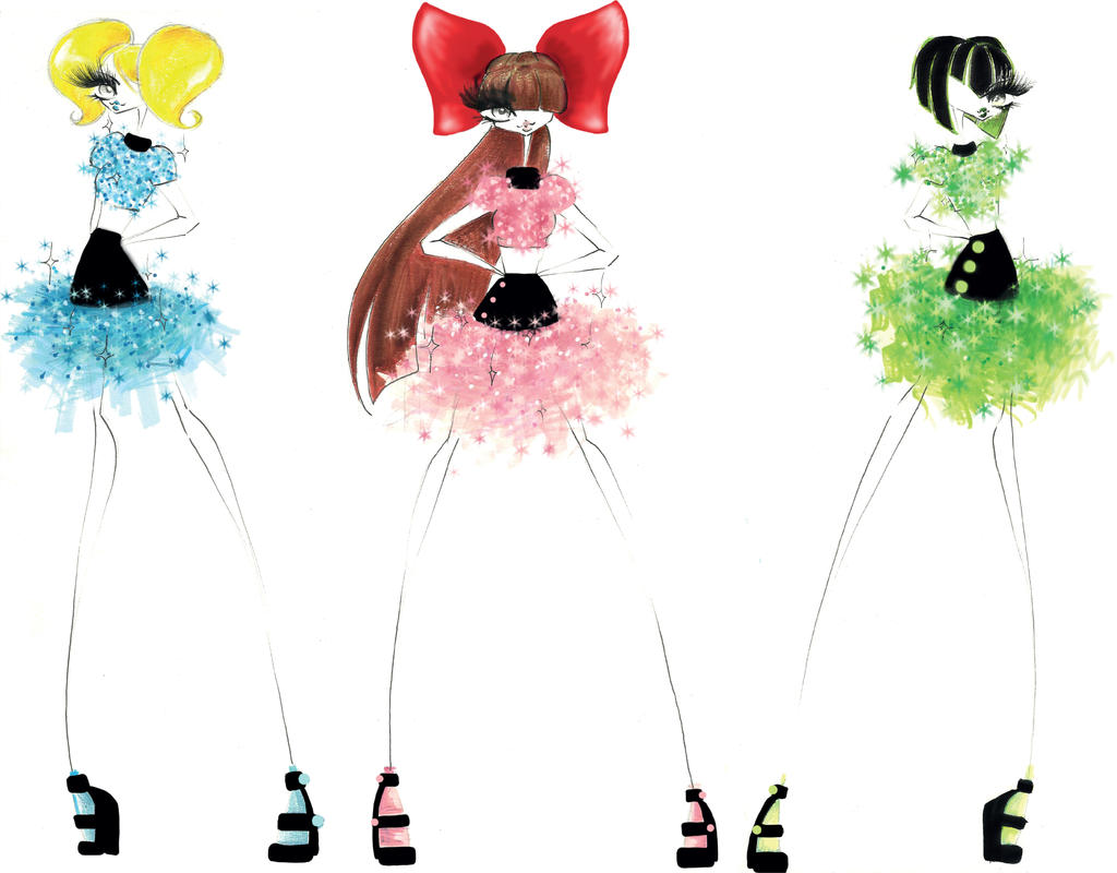 PowerPuff Girls/ superchicce by chiccas