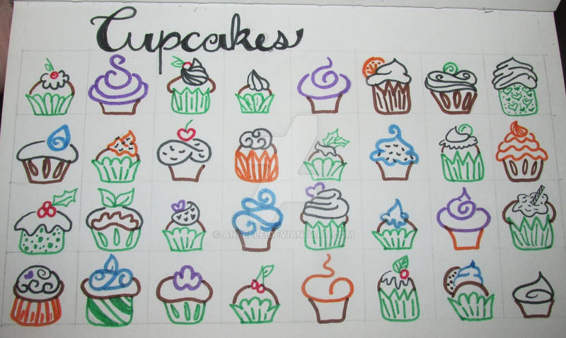 Cupcakes by Ani-elle