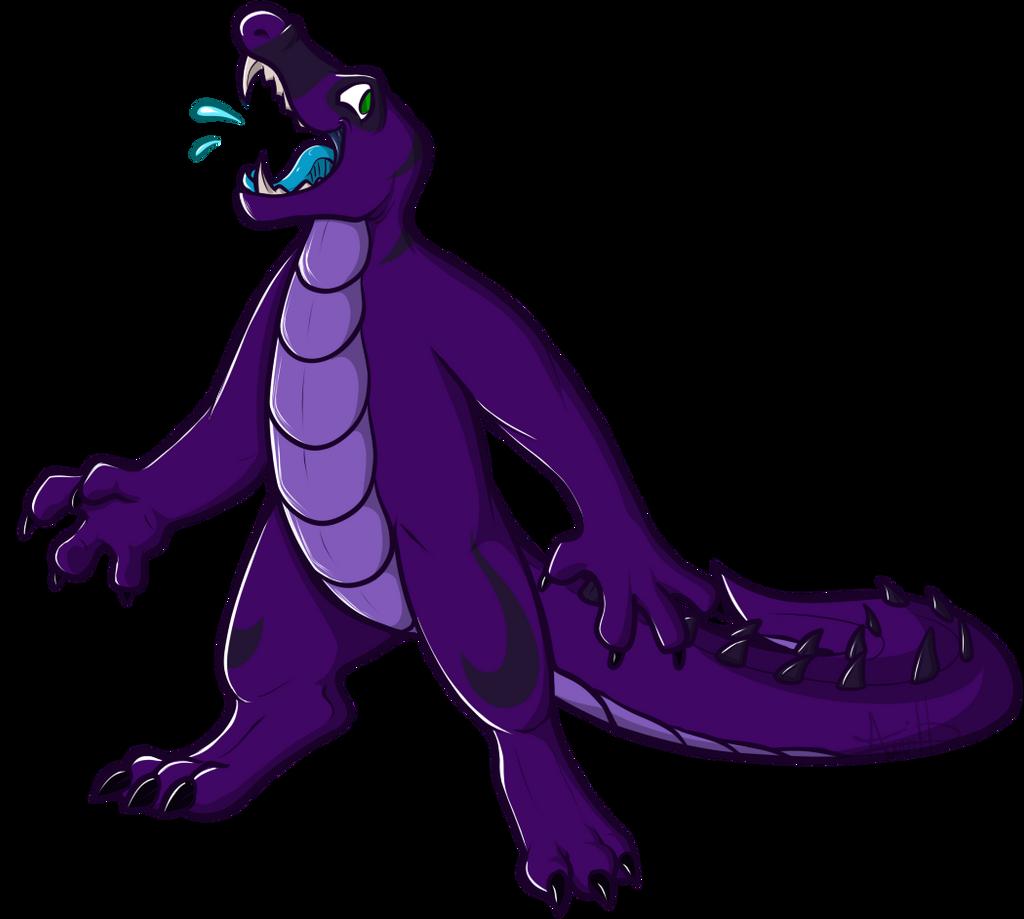 .:R:. Ollie gator by BAYAR3AB3AST