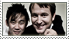 James Wan and Leigh Whannell stamp by R-i-s-e
