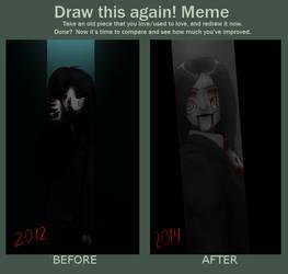 Draw this again: Thanks again, again