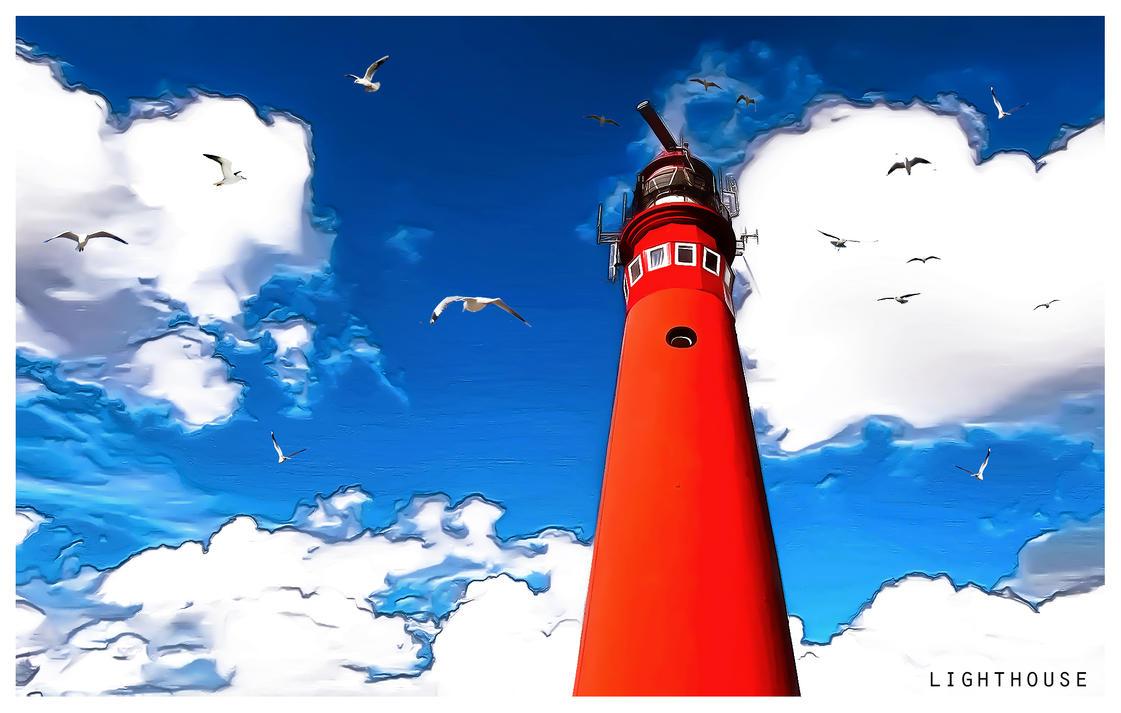 Lighthouse by arnarn-stinkfist