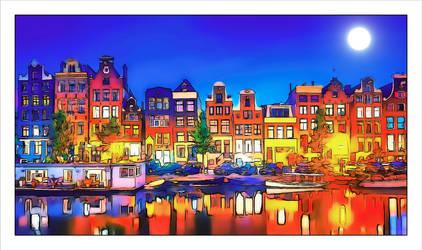 Amsterdam by arnarn-stinkfist