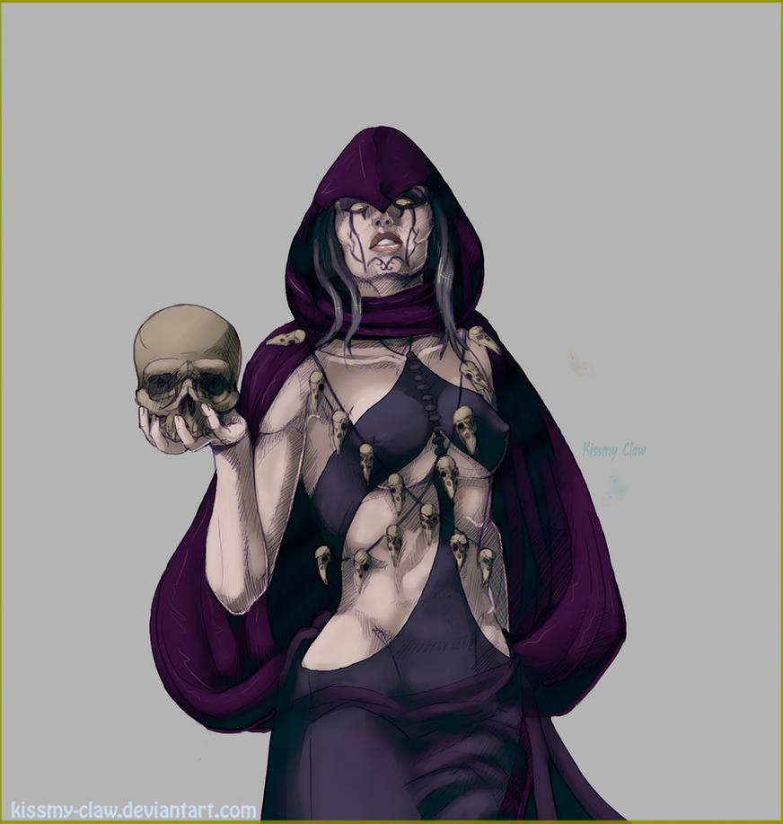 Lady Death(CMS) by Kissmy-Claw