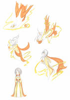 Commision - Soul Dew - Shiny Latias TF by Luxianne