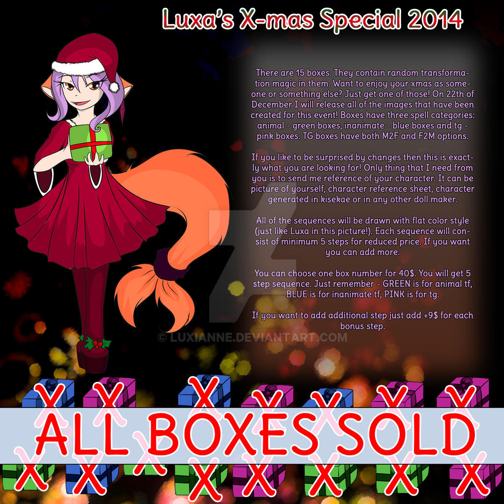 Luxa's X-mas Special 2014 [ALL BOXES SOLD]