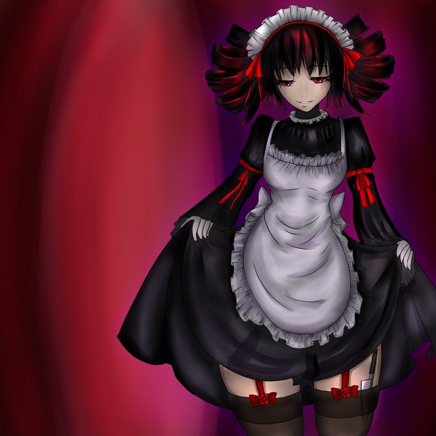 TT - Gothic Lolita Maid by Luxianne