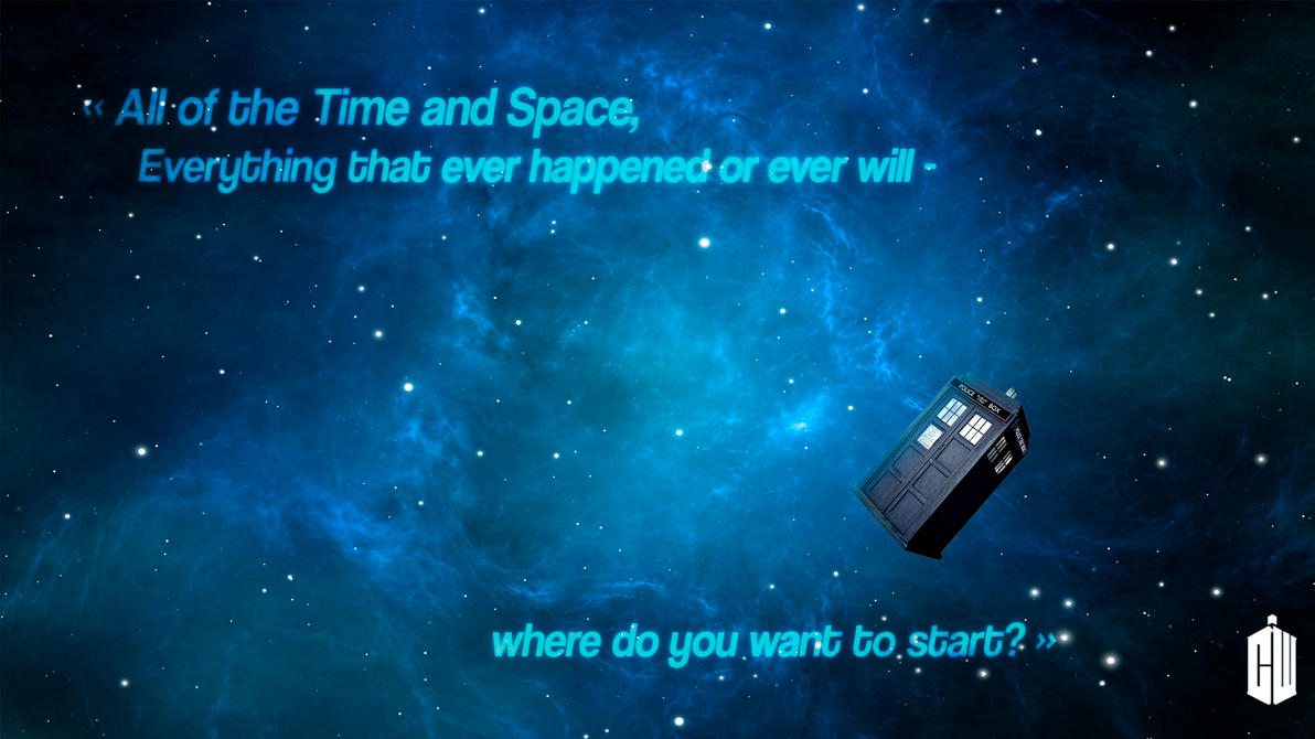 doctor who all of the time and space by darkounetlolz