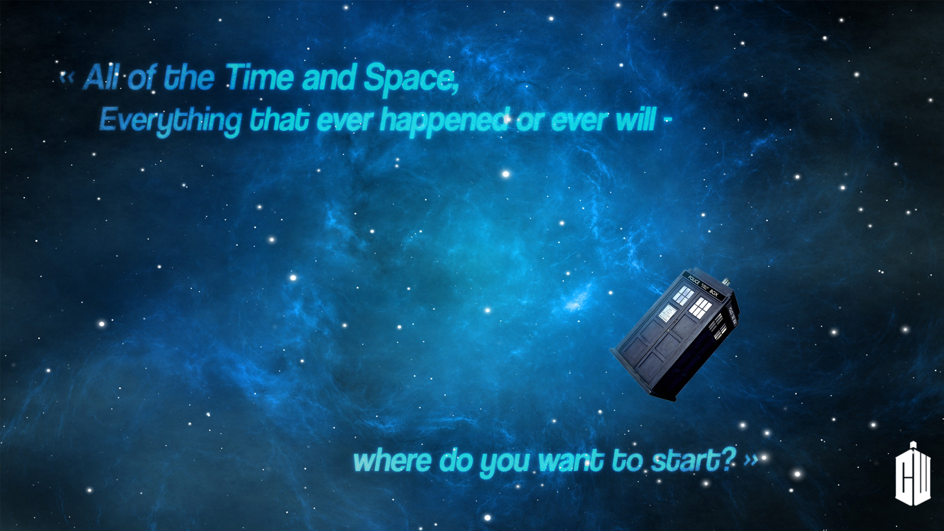 All of time and space wallpaper 1415641 for Time to space