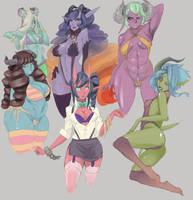 Sai Demons by LiveForTheFunk