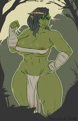 Buffthick Orc Shummi by LiveForTheFunk